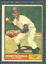 1961 TOPPS  # 27 JERRY KINDALL CUBS VG/EX O/C