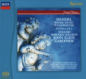Handel   Water Music JOHN ELIOT GARDINER Esoteric SACD Japan Import Out of Print