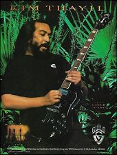 Soundgarden Kim Thayil Guild S-100 electric guitar ad 8 x 11 advertisement