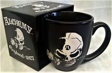 ALCHEMY GOTHIC BLACK MUG - THE ALCHEMIST'S SKULL - HORROR & SKELETONS GIFTS
