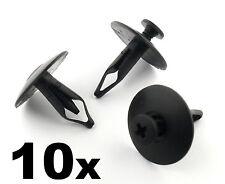 10x Ford Pare-chocs, CALANDRE radiateur & couverture garniture en plastique clips - 6mm trou, scrivet