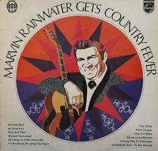 Marvin Rainwater Gets Country Fever Signed Vinyl LP.1972 Philips 6414 110.