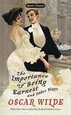 The Importance of Being Earnest and Other Plays-ExLibrary