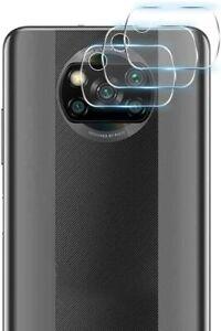 (3x) Kamera Linse Schutzfolie Anti-Kratzer Glasfolie für Xiaomi POCO X3 PRO