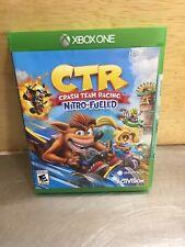 CTR CRASH TEAM RACING NITRO FUELED (MIcrosoft Xbox One XB1) BRAND NEW SEALED