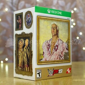 WWE 2K19 Wooooo! Collector's Edition (Xbox One) - US Version, Ric Flair - Sealed