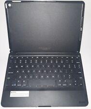 ZAGGfolio Bluetooth Keyboard Case for Apple iPad Air 2 Black