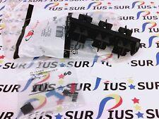 NSOP Siemon RIC-F-SA8-01 Fiber Adapter Plate Black 8 Fiber ST Duplex RICFSA801