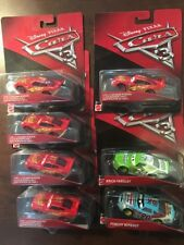 Lot Of 7 Disney Pixar Cars 3 Matel Die Cast NEW!