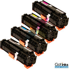 4/Pk Color Toner Cartridge Set KCMY for Canon 118 ImageClass MF8380 MF8580