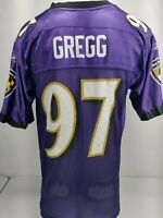 Reebok On Field Baltimore Ravens Kelly Gregg Jersey #97 Size Small S