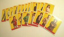Topps Stranger Things Season 1 one Trading Cards: 20 Character Sticker set