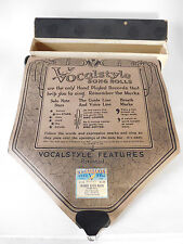 SWANEE RIVER MOON- VOCALSTYLE Player Piano Word Roll 12113 -P/B Dick Osgood
