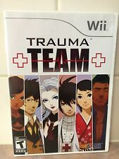 TRAUMA TEAM --- WII w/ Box, Manual NOT Included TESTED!!!