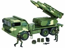 WORLD PEACEKEEPERS POWER TEAM ELITE MILITARY ANTI-AIRCRAFT MISSILE TRUCK ARMY