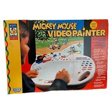 Mickey Mouse Video Painter Vtech Smart Play - Disney Vintage Video Game Rare