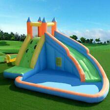 Inflatable Bouncy Castle Outdoor Garden Kids Jumper House Water Slide Activity