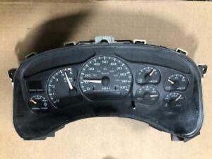 USED 232k! Diesel Speedometer Cluster Fits 01-02 SIERRA 2500, 15065280  28840