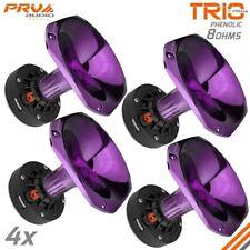 "4x PRV Audio D270Ph-S 1"" Phenolic Driver 150 Watts 8 Ohms + WGP14-25 PURPLE Horn"