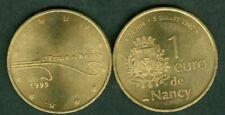 Pièces d'1 euro, année 1999