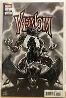 VENOM #1 4th print MARVEL COMICS Ryan Stegman B&W Variant Cover 2018 Knull Cates