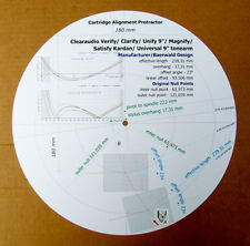 "Clearaudio Verify/Clarify/Unify/Magnify/Satisfy Kardan/Universal 9"" Protractor"