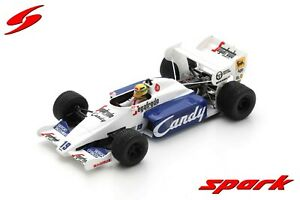 S2778 Spark: 1/43 Toleman TG184 #19 2nd Monaco Grand Prix 1984 Ayrton Senna