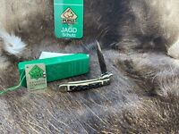 1990 Vintage Puma 563 Medici Knife With Stag Handles With Tag - Mint In Box