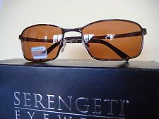 New Serengeti Sunglasses Made in ITALY MARTINDALE 8310 Polarized New with box