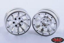 RC4WD Z-W0179 Silver 1.9 Universal Beadlock Wheel (D2) (2)