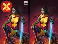 X-MEN #1 SHANNON MAER VIRGIN TRADE DRESS/VIRGIN SET LIMITED TO 600 SETS W/COA