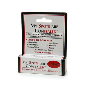 My Spots Are Consealed - Light - best concealer for body face back acne