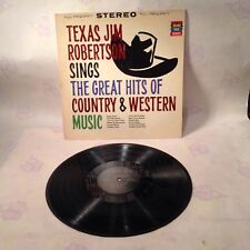 Jim Robertson Sings The Great Hits Of Country & Western Music GRAND PRIX KS-185