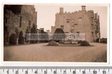 1937 Powis Castle nr Welshpool - Vintage Velox Photograph - Wales / Medieval