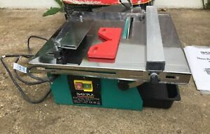 34MM BLACK SPUR 450W ELECTRIC TILE CUTTER SAW TOOL WITH BOX & MANUAL NEW