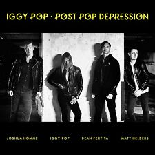 Iggy Pop - Post Pop Depression (2016)  CD  NEW  SPEEDYPOST