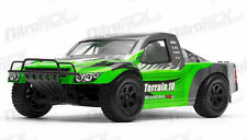 1/10 Scale Exceed Racing Terrain Short Course RC Truck Ready to Run 2.4ghz Green