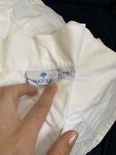 Matouk 300Tc Cotton Sateen King 4pc Set King Sheet Flat Fitted Shams