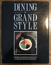 DINING IN GRAND STYLE - HARDCOVER - HILTON INTERNATIONAL COOKBOOK