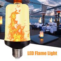 96LED Lawn Light E27 Dynamische Flammeneffekt-Taschenlampe Glühbirnen für die Au