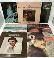 Classic Country Music Lot Of 10 Vinyl Records 60's 70's
