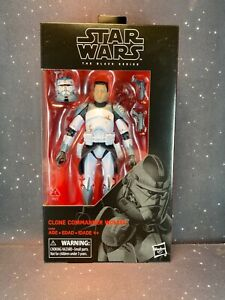 2018 Star Wars Black Series 6 inch The Clone Wars Clone Commander Wolffe Exclusi