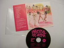 UNIVERSAL SEX ARENA Women Will Be Girls – 2013 Italian CD – Rock - BARGAIN!