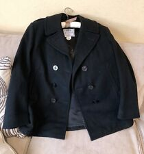 DSCP Quarterdeck Collection Genuine US Navy Issue Wool PeaCoat Womens 14R