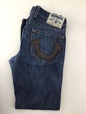 """True Religion Men's Jeans Slim Waist 33"""" Leg 32"""""""