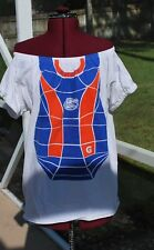 Univ of Florida Gators Softball Off / One Shoulder Shirt Top Upcycled S/M