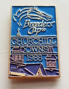 BREEDERS CUP 1988 CHURCHILL DOWNS PIN