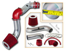 Cold Air Intake Kit + RED Dry Cone Filter For  04-08 Chevrolet Aveo 1.6L L4