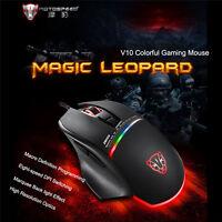 V10 4000DPI USB Optical Scroll Wheel Mouse Mice for PC Laptop Notebook Desktop