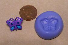 Stampo in silicone farfalla Riutilizzabile Sugarcraft gioielli Card Topper per alimenti N